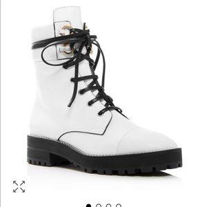 New Stuart Weitzman Lexy lug soled boots
